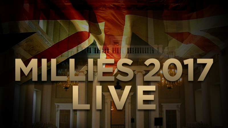 Millies 2017 Live banner