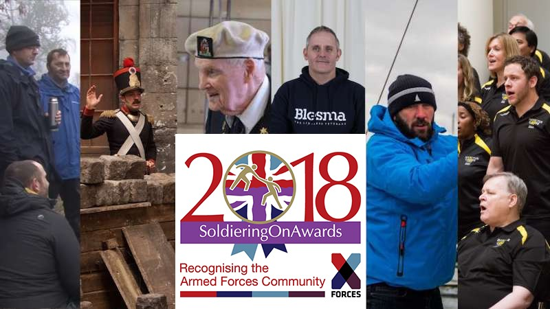 Soldiering On Awards Finalists In Their Own Words As Votes