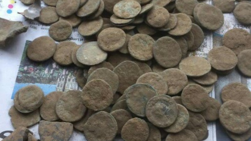Roman coins discovered by veteran
