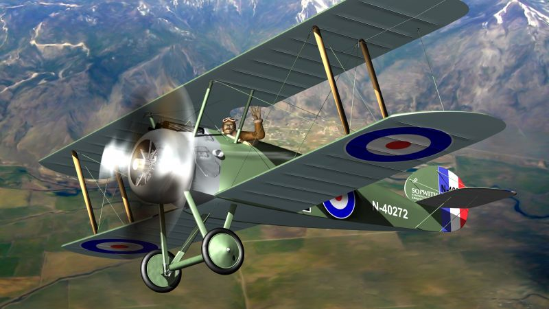 Sopwith Camel - Digital team - Shutterstock image from account