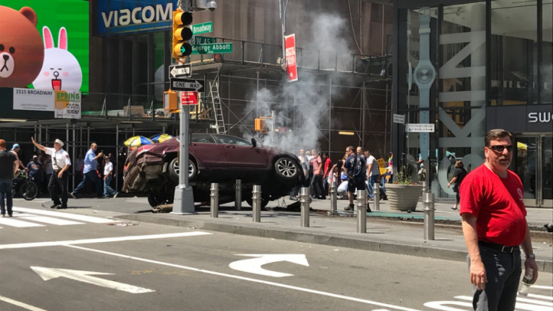 Former Member Of The Armed Forces Mows Down Pedestrians In New York