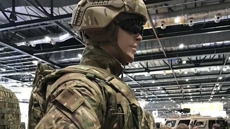 The High-Tech British Army Uniform Of The Future?