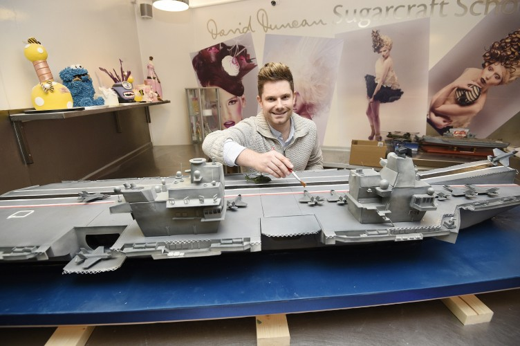 A Cake Fit For A Queen (And An Aircraft Carrier)