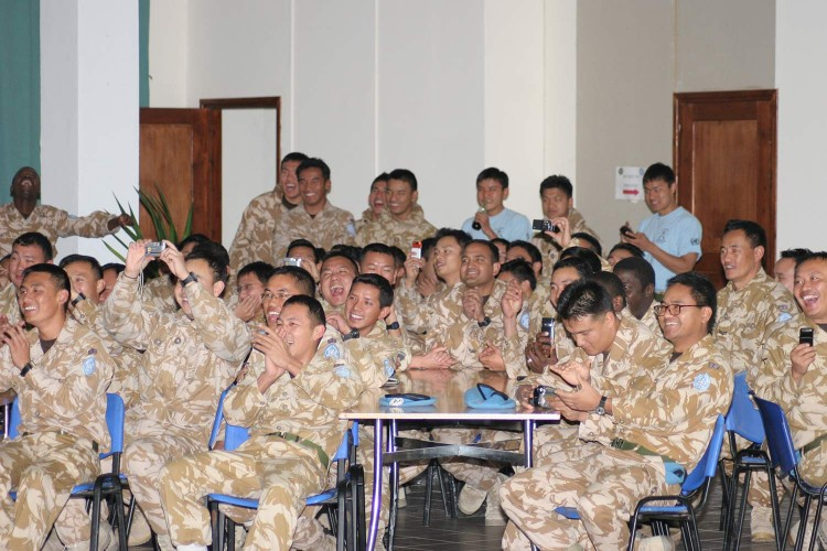 CSE Show for Gurkhas