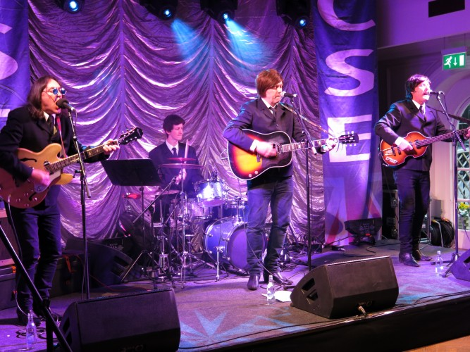 Beatles Tribute 'Hey Jude' at Chelsea Pensioners CSE Show