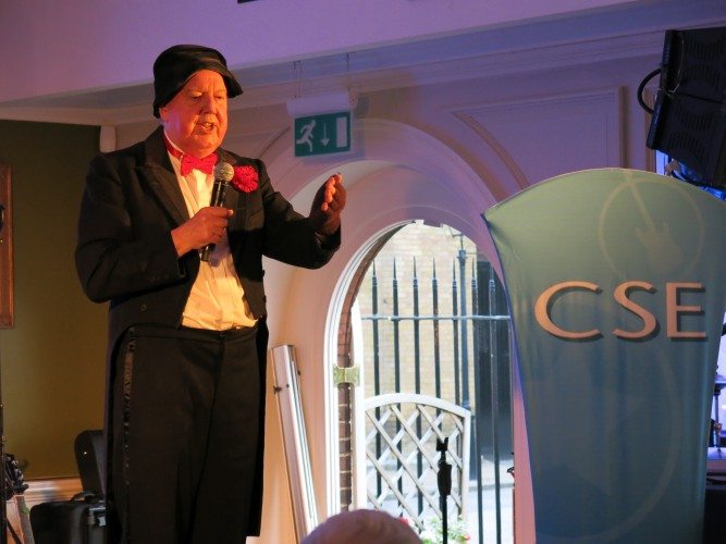 Jimmy Cricket at Chelsea Pensioners CSE Show