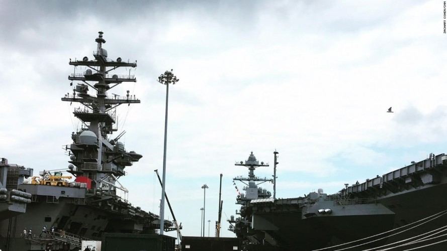 Uss Gerald Ford America S Answer To Hms Queen Elizabeth