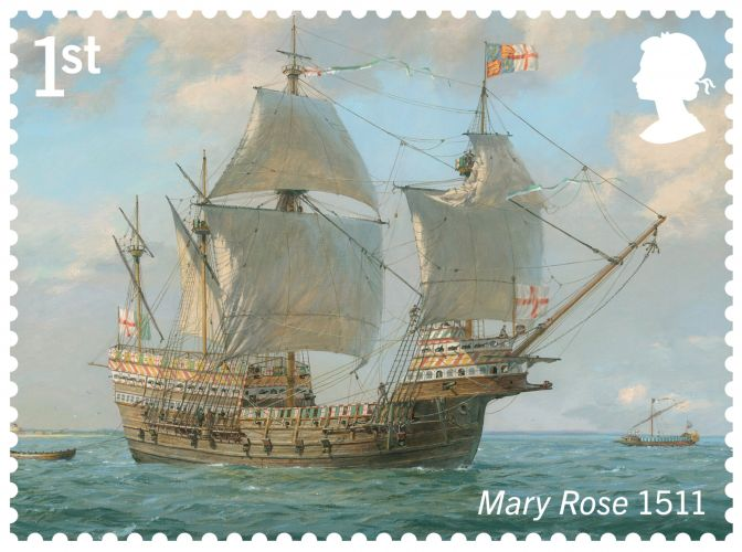 Mary Rose (Picture: Royal Mail).