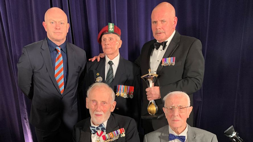 Millies 2019 Royal British Legion and D-Day veterans.