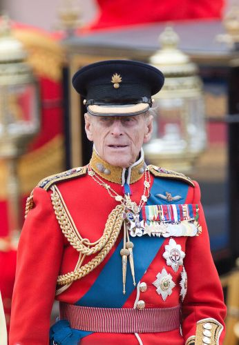 Prince Philip during Trooping the Colour in 2012 (Picture: Newsphoto/Alamy).