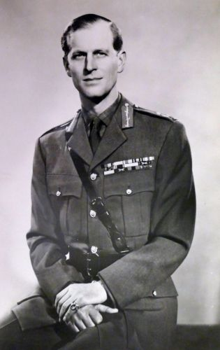 The Duke of Edinburgh in uniform (Picture: World History Archive/Alamy).