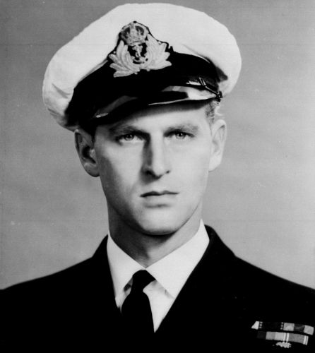 Prince Philip during his time as a Royal Navy officer (Picture: PA).