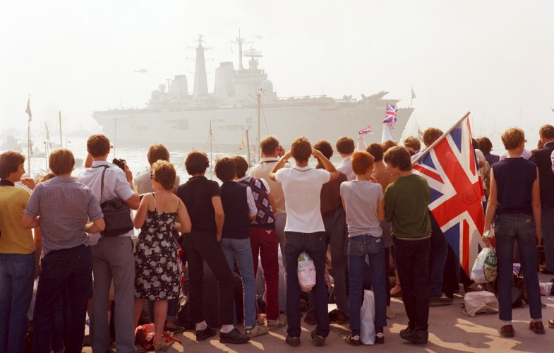 HMS Invincible Portsmouth, SWNS