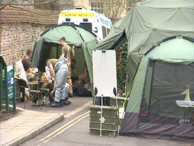 Military Assist Police In Russian Spy Investigation & Theresa May: Spy Was Poisoned Using Nerve Agent Developed By Russia