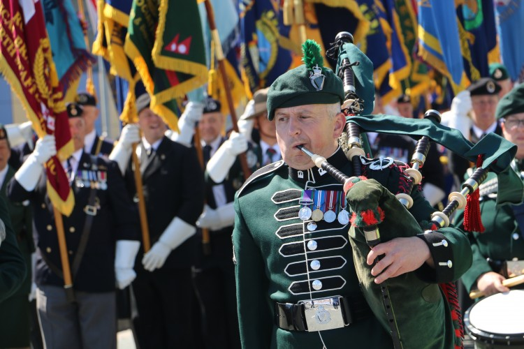 Armed Forces Day 2018 Llandudno Wales Parade Alex Griffiths