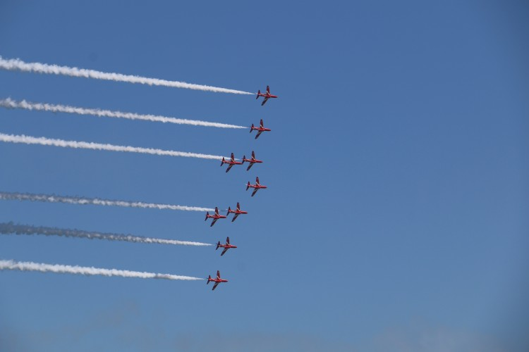 RAF Red Arrows Llandudno Armed Forces Day Alex Griffiths Forces News