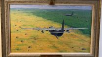 Painting Op Silkman. Credit RAF Regiment