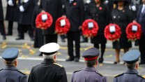 Remembrance Sunday 2017 at Cenotaph - CREDIT: MOD