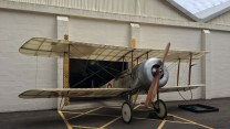 Aircraft Bristol Scout Returns Home To Larkhill After A Century