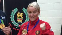 Corporal Alanna Nihell the first Female Team Captain of the British Army Boxing Team