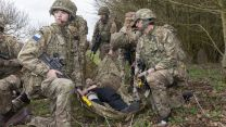 Exercise Mercury Dagger took place on the STANTA ranges in Norfolk (Picture: MOD).