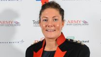 Captain Gemma Rowland Credit British Army Twitter Rugby Army Sports Awards Sportswoman Of The Year 2015
