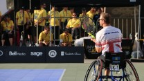 Wheel chair tennis