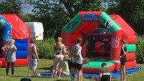 Bouncy Castle at RAFP100FEST