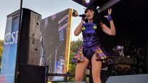 Katy Ellis as Katy Perry for CSE at RAF Marham Friends & Families Day Concert 2018