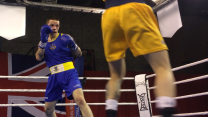 5 Regt RA boxing in Catterick - BFBS