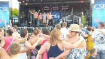 Stavros Flatley & Crowd at RAF Marham's Friends & Families Day Concert 2018