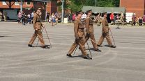 Scots Guards Pace Sticking