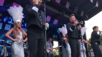 Rule the World (Take That Tribute) perform at RAF Marham 2018 7