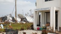 Widespread devastation to buildings in Abaco.