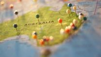 Australia Map Pins Geography Credit Catarina Sousa on pexels.com