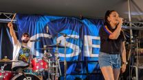 Rock The 90s on stage for CSE at RAF Marham