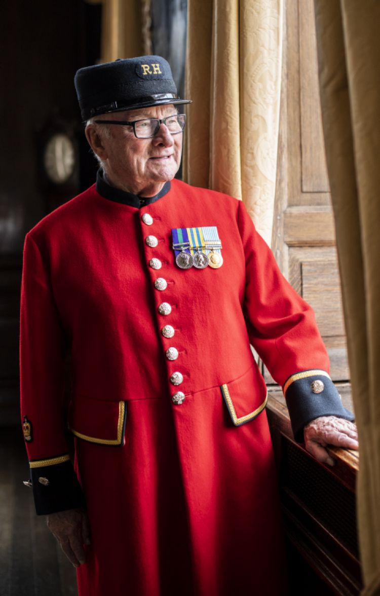 Chelsea Pensioner and Korean War veteran, Colin Thackery (born 9 March 1930), who won the thirteenth series of Britain's Got Talent in June 2019.