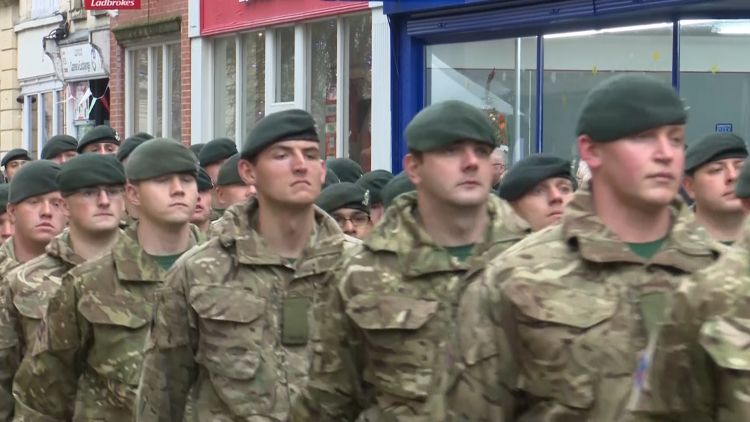 1 Rifles and 6 Rifles return from Kabul Credit BFBS 21.11.19