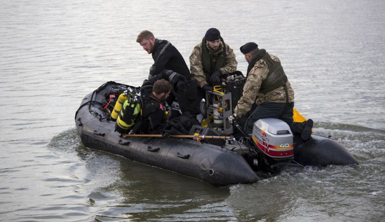 Royal Navy Bomb Disposal Divers