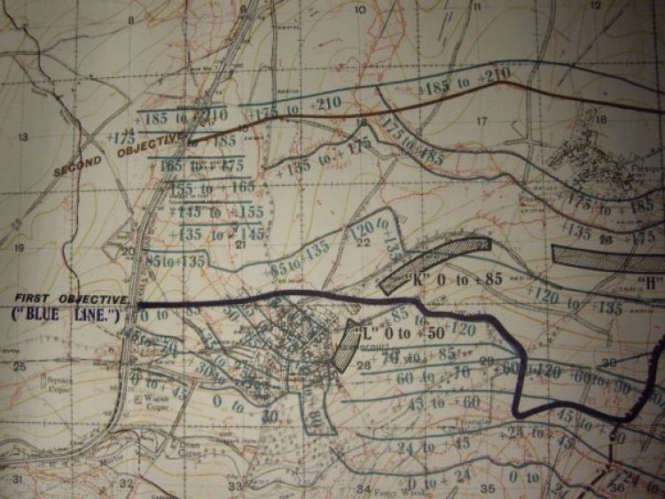 Public records office first world war ordnance map