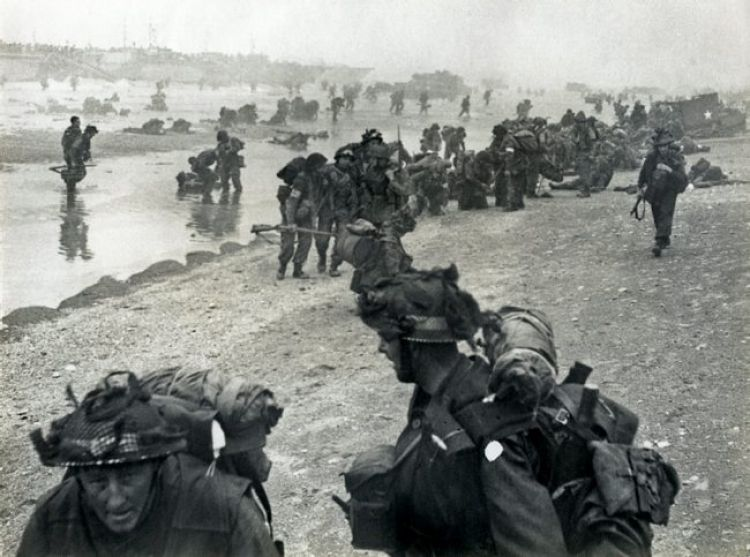 D-Day MoD/Crown Copyright 1944