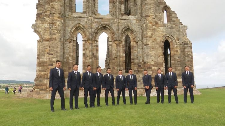 The recruits also visited the high street and Whitby Abbey.