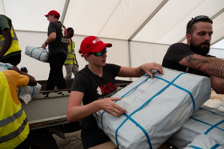 Team Rubicon UK deploys to Buzi district of Mozambique. Credit: Team Rubicon UK