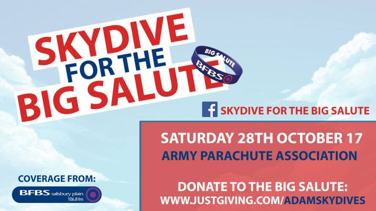 Skydive for the Big Salute