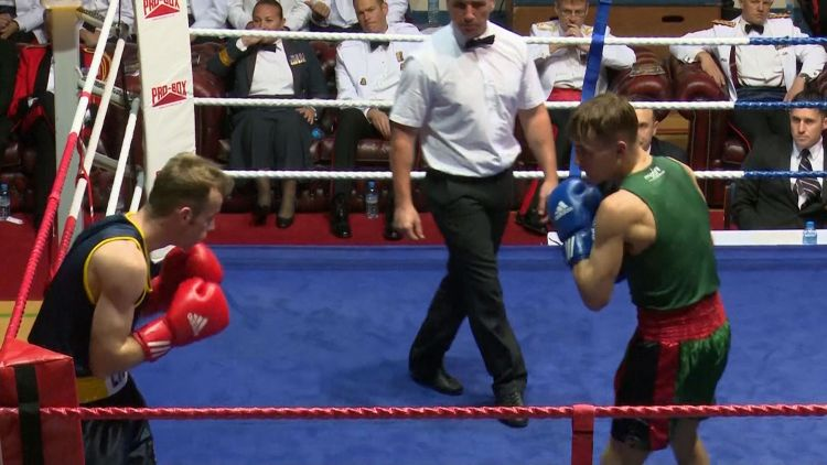 3 RIFLES Army Boxing Championships quarter-final win 2018