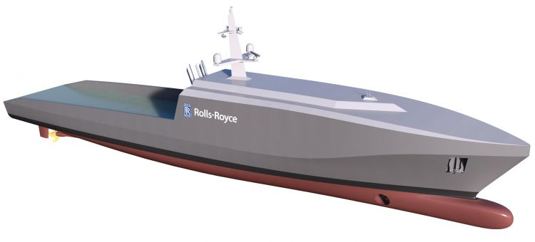 Rolls-Royce plans autonomous Navy vessel