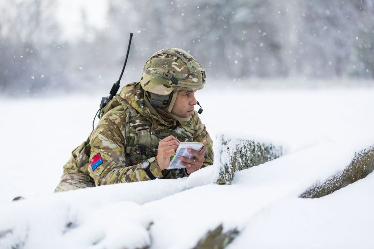 Estonia exercise CROWN COPYRIGHT