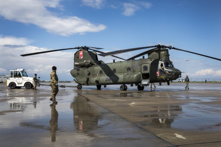 Chinook Helicopter RAF Germany Bases