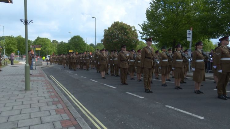4 Armoured Medical Regiment in Aldershot