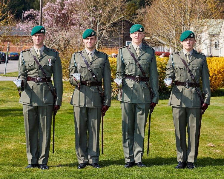 40 Commando Royal Marines the Firmin Sword of Peace presentation Credit MOD 010419